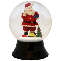Santa Claus Holiday Snow Globe