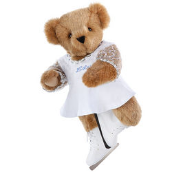 Figure Skater Girl Teddy Bear