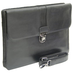Full Grain Leather Underarm Briefcase
