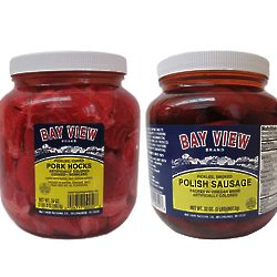 2 Jar Combo of Pickled Meats
