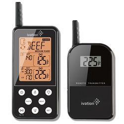 Extended Range Wireless Cooking Thermometer