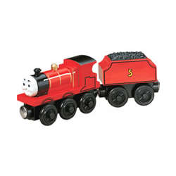 James the Red Engine Train