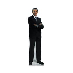 Life Size Barack Obama Standee