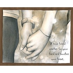 Together Hand in Hand Fine Art Print