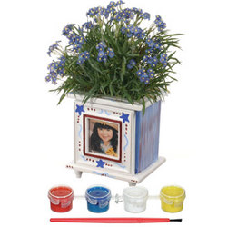 Paint-A-Photo Planter
