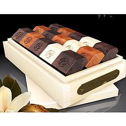 Sunshine Natural Basswood Box of French Chocolates