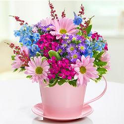 Thanks-A-Latte Floral Arrangement
