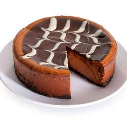 6 Inch Triple Chocolate Cheesecake