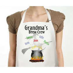 Brew Crew Personalized Halloween Apron