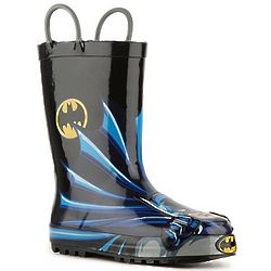 Batman Boy's Toddler and Youth Rain Boots