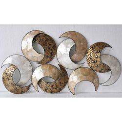 Seashell Metal Wall Decor