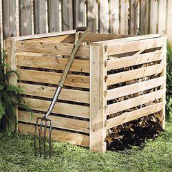 Cedar Composter Bin