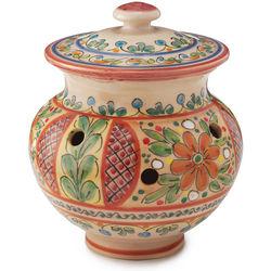 Handcrafted Garlic Jar