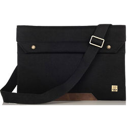 Black Argal Messenger Bag