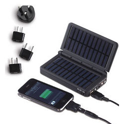Solar Charger with Adaptor Plugs