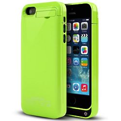 iPhone Lime Green Hard Charging Case with Kickstand
