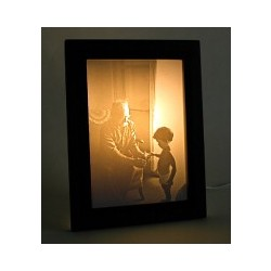 Personalized Lithophane Photo Lamp