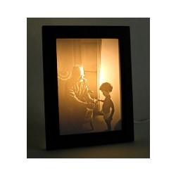 Personalized Lithophane Photo Lamp