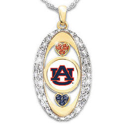 For the Love of the Game Auburn Tigers Pendant