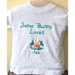 Some Bunny Loves Personalized Easter Shirt