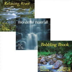 Relaxing Water Sounds: Waterfall, River, Brook CDs