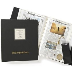 The New York Times Ultimate Anniversary Book with Engraved Coin