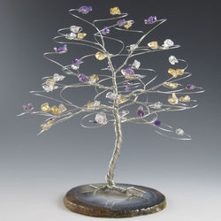 Large Gemstone Tree