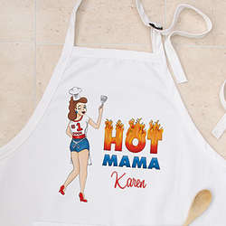 Personalized Hot Mama Apron