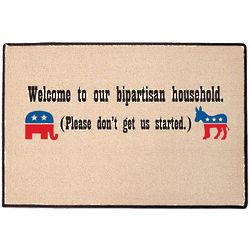 Bipartisan Household Doormat