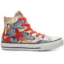 Converse All Star Superman 2 Boy's High-Top Sneakers