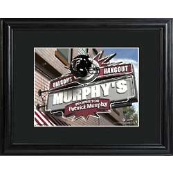 Atlanta Falcons Personalized Tavern Sign Print