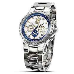 Scottish Pride 22K Gold-Plated Stainless Steel Men's Watch