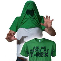 Ask Me About My T.Rex Shirt