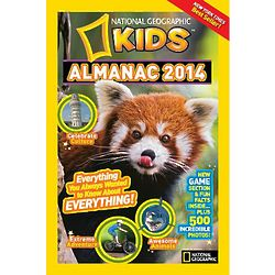 Kid's 2014 National Geographic Almanac