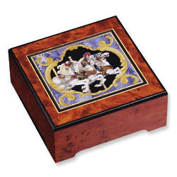 Carousel Horse Musical Jewelry Box