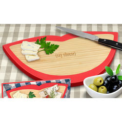 Say Cheese! Wooden Cheese Board