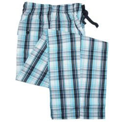 Plaid Cotton Sleep Pants