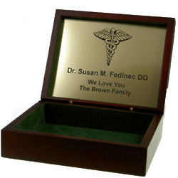 Profession Themed Engraved Box