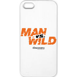 Man Vs. Wild Logo iPhone 5 Case