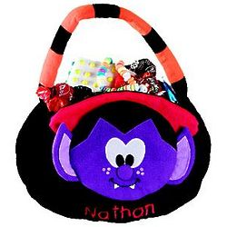 Dracula Personalized Trick or Treat Bag