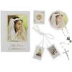 Girl's First Communion Book, Rosary and Accessory Set