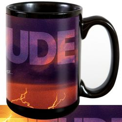 Attitude Lightning Ceramic Mug