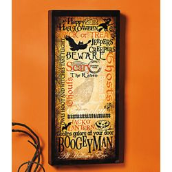 Halloween Happenings Wall Decor