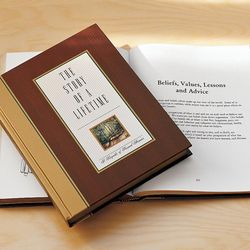 Story of a Lifetime Anniversary Book