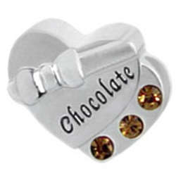 Box of Chocolates Valentine's Day Charm Bead