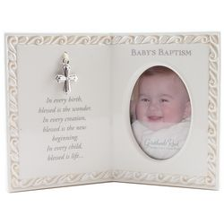 Baby's Baptism Blessing Photo Frame