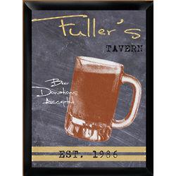 Personalized Mug Tavern Sign