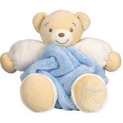 Plume Blue Stuffed Bear