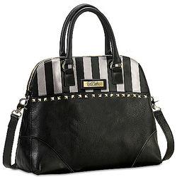 Beverly Hills Leather Satchel Handbag