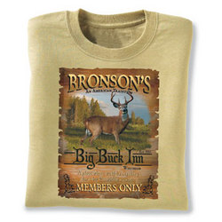 Personalized Big Buck Inn T-shirt